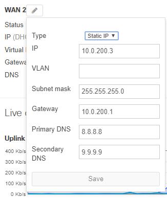 Cisco Meraki MX Static IP assignment via Dashboard • AboutNetworks net