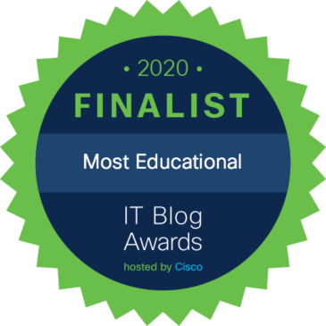 2020 IT Blog Awards finalist