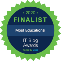 2020 IT Blog Awards finalist