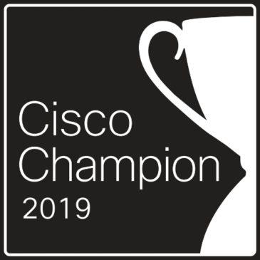 Cisco Champion 2019